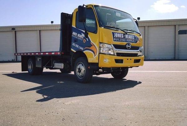 Crane Truck Wrap