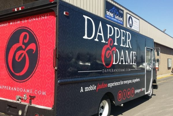 Fashion Truck Wrap
