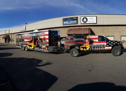 History of the Vehicle Wrap - Colorado Signs and Wraps