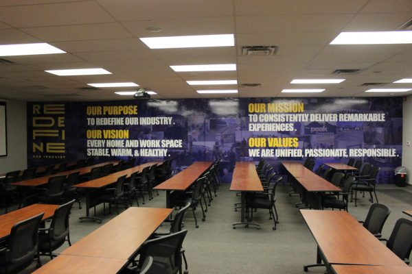 custom graphic installation by colorado signs and wraps